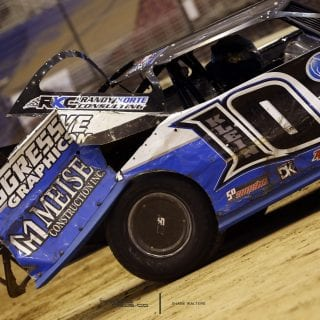 Gateway Dirt Nationals Damaged Cars 8494