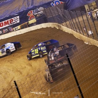 Gateway Dirt Nationals Dirt Modified Racing Photo 8327