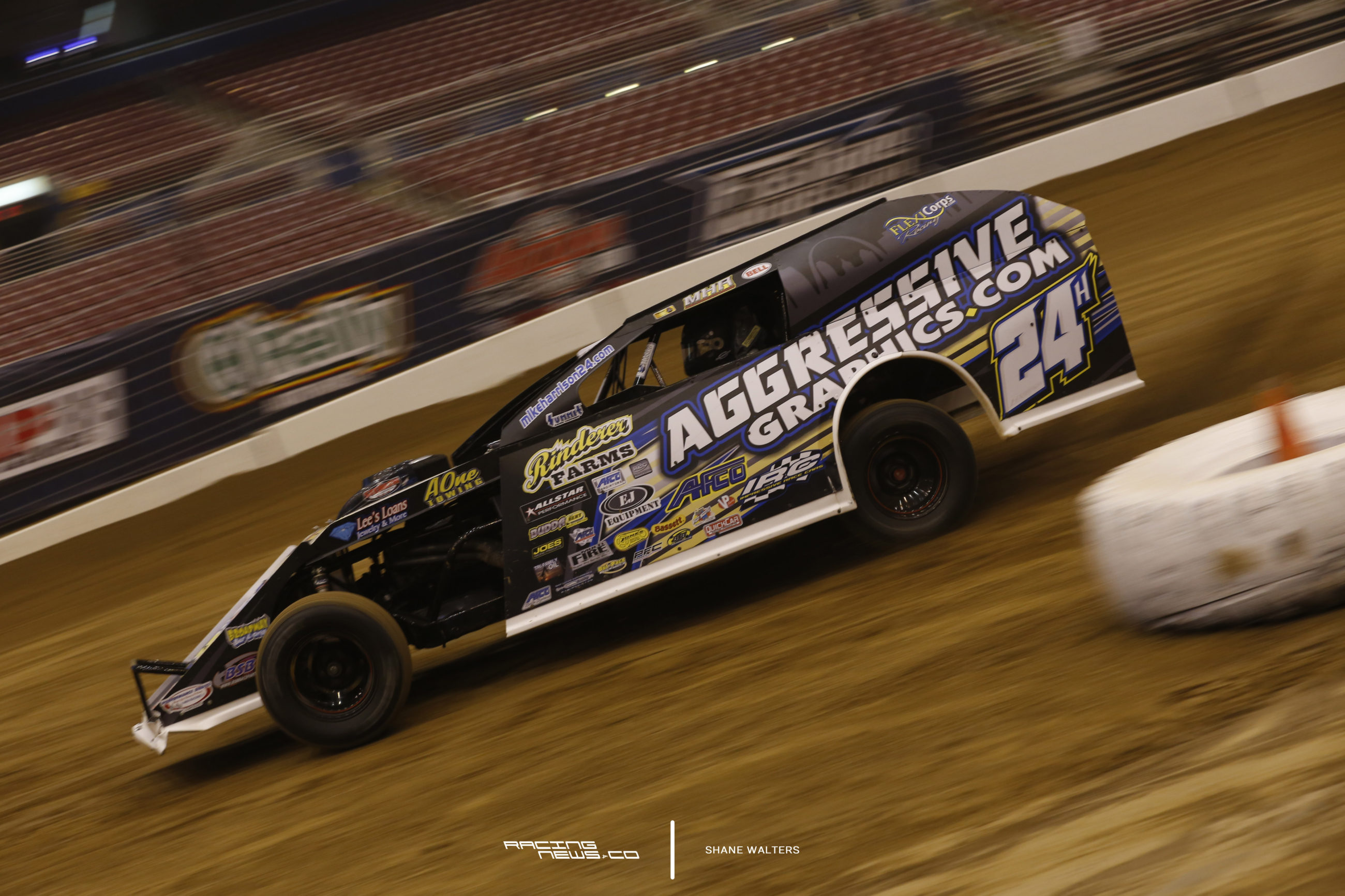 Gateway Dirt Nationals Modified Heat Race Results - Mike Harrison 7003