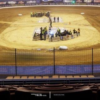 Gateway Dirt Nationals St Louis Stadium Dirt Modified Race 6242