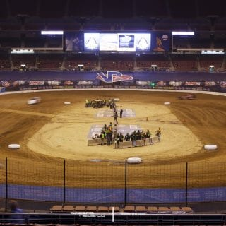 Gateway Dirt Nationals Stadium Dirt Track Race Photo 6157