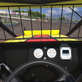 Inside iRacing Dirt SprintCar