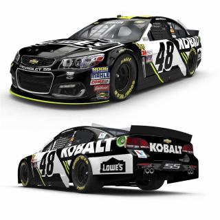 Jimmie Johnson 2017 Car - NASCAR Kobalt Car