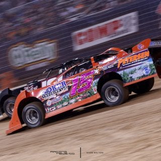 Justin Kay Gateway Dirt Nationals Racing Photo 9068