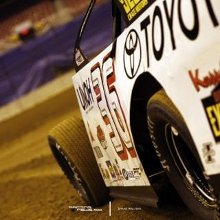 Kenny Wallace - First Car on Track Gateway Dirt Nationals St Louis 4895