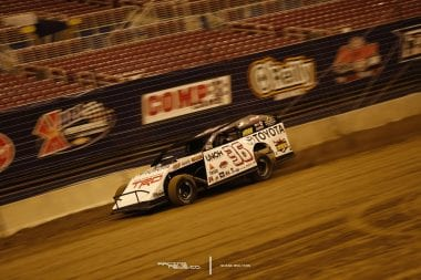 Kenny Wallace On Track at The Gateway Dirt Nationals 4974