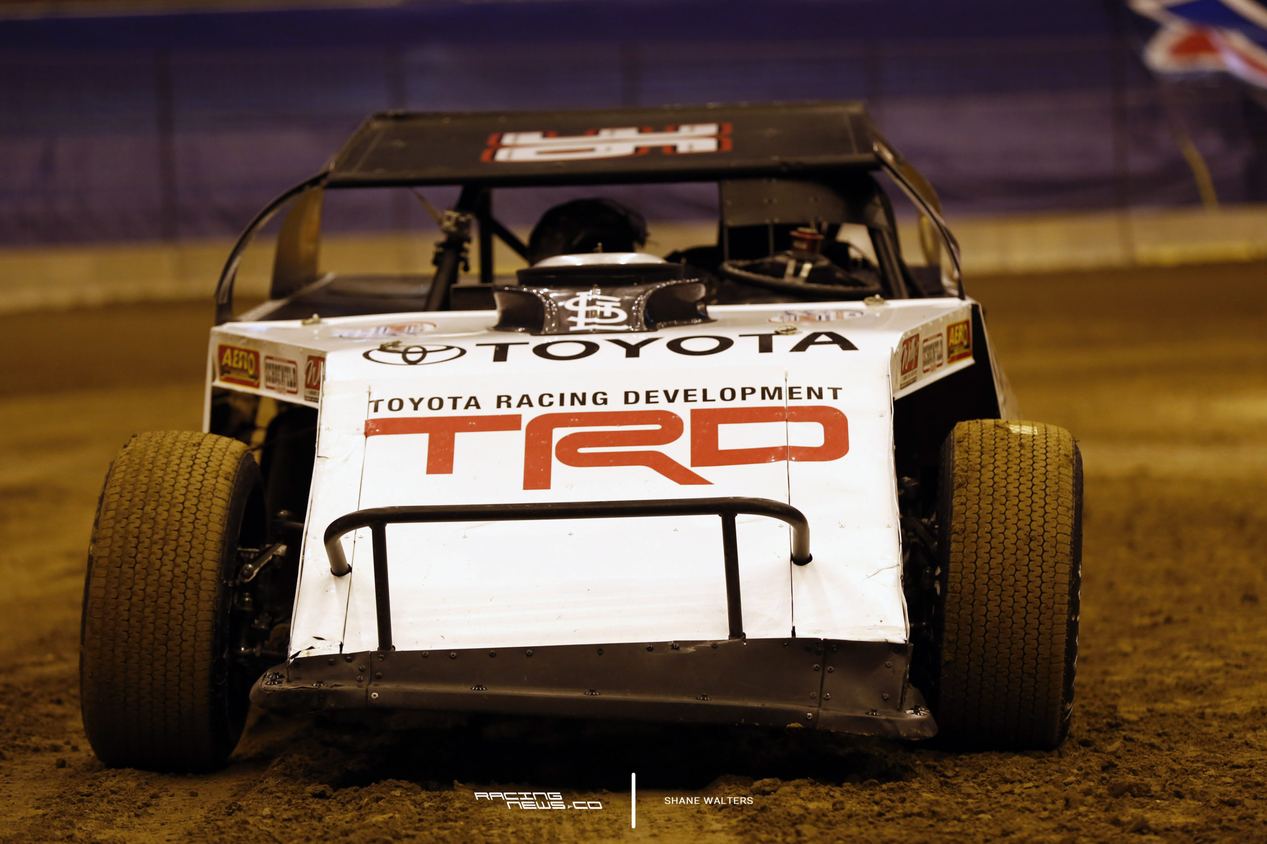 Kenny Wallace St Louis Dome Race Test 4933