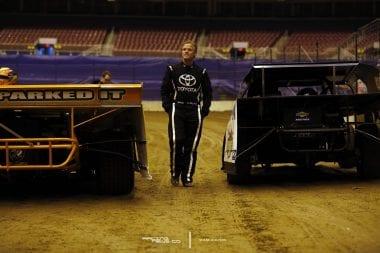 Kenny Wallace Walks Gateway Dirt Track 4819