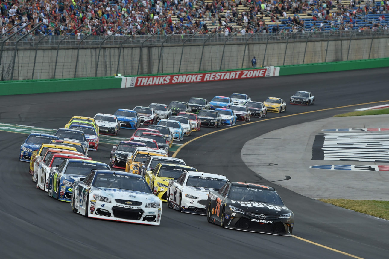 Kentucky Speedway Smoke-Free Grandstands Beginning in 2017