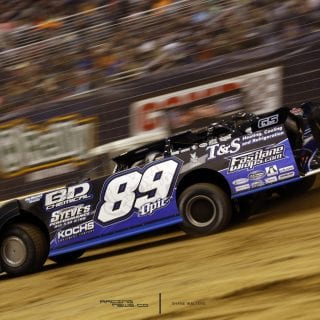 Mike Spatola Dirt Late Model Photo 8489