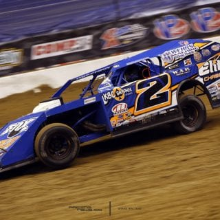 Nick Hoffman Dirt Modified Racecar 5810