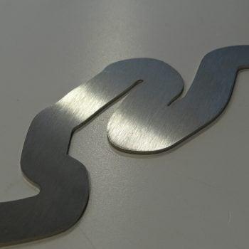 Racing Art Designs - Stainless Steel Racing Track Sculptures