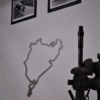 Racing Art Designs - Stainless Steel Racing Track Sculptures - Racing Arts