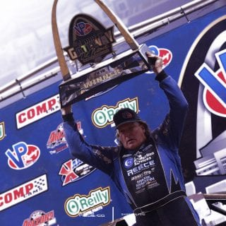 Scott Bloomquist Gateway Dirt Nationals Throphy 9401