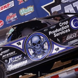 Scott Bloomquist Victory Lane Photo 9230