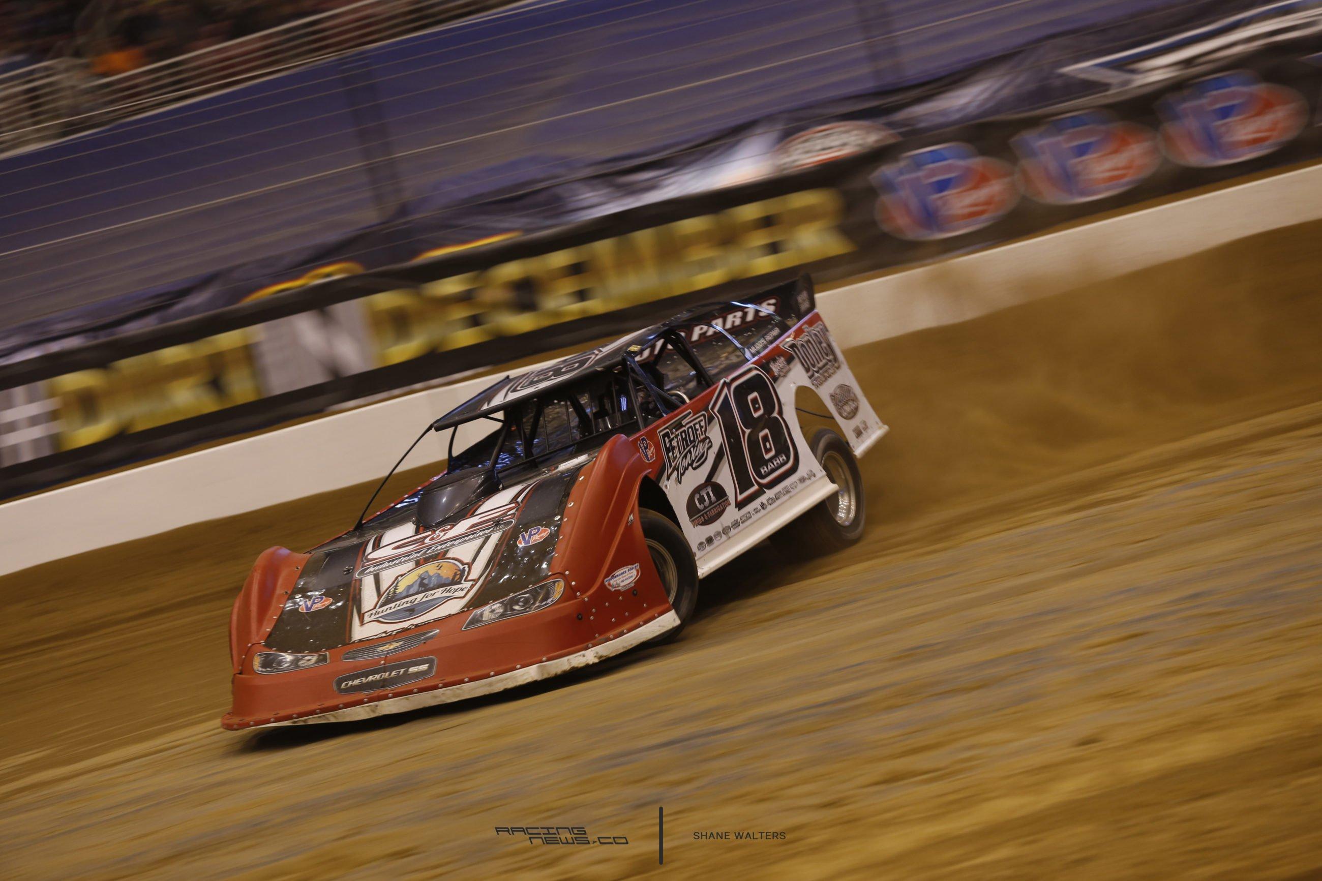 Shannon Babb Dirt Late Model - 2016 Gateway Dirt Nationals Photos - Thursday 6393