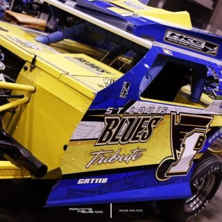 St Louis Blues Dirt Modified Car 5270