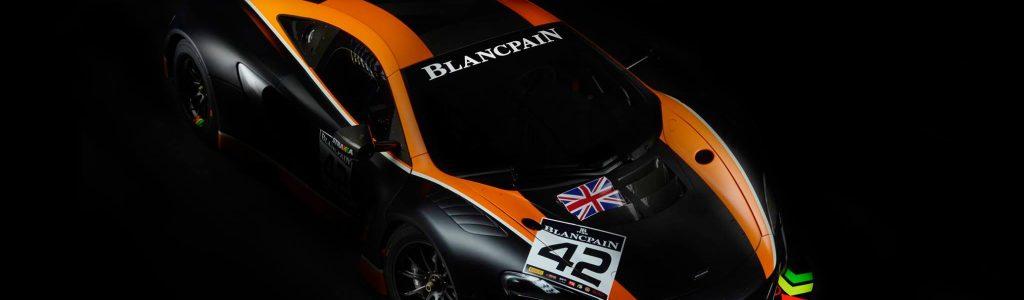 Strakka Racing 2017 Blancpain GT Series Entry – McLaren GT