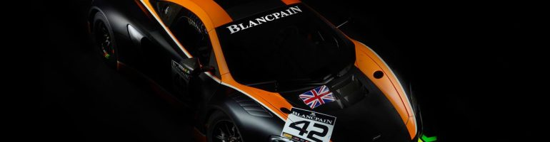 Strakka Racing 2017 Blancpain GT Series Entry – McLaren GT