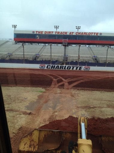 The Dirt Trackat Charlotte - Dirt Track Prep