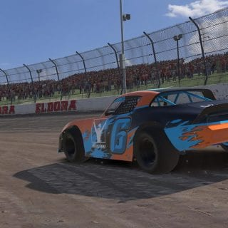 iRacing Dirt Gameplay Photo