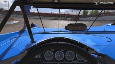iRacing Dirt Late Model InCar