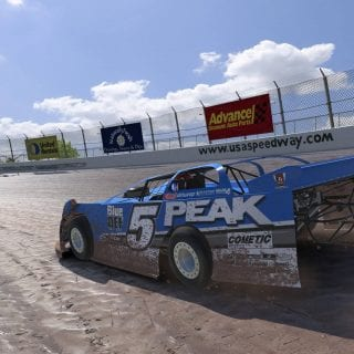 iRacing Dirt Screenshot - USA Speedway Dirt