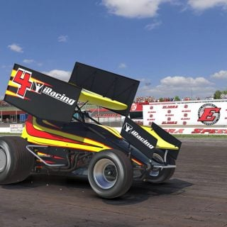 iRacing Dirt Sprint Car