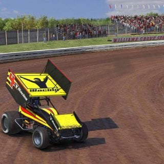 iRacing Williams Grove Speedway Gameplay