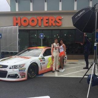 2017 Hooters NASCAR Racecar