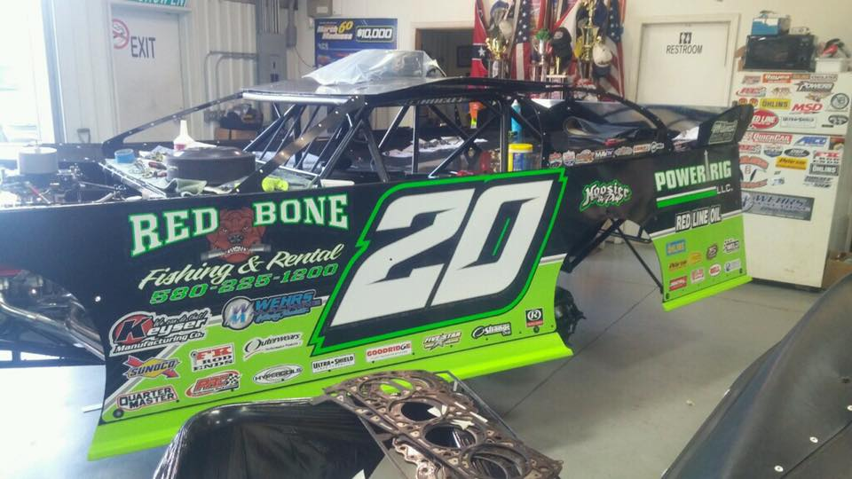 2017 Jimmy Ownes Dirt Late Model