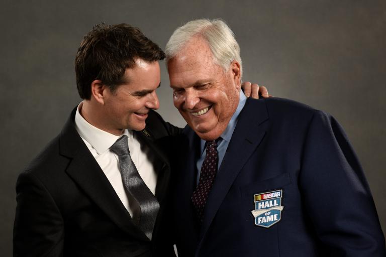 2017 NASCAR Hall of Fame Rick Hendrick and Jeff Gordon Photo