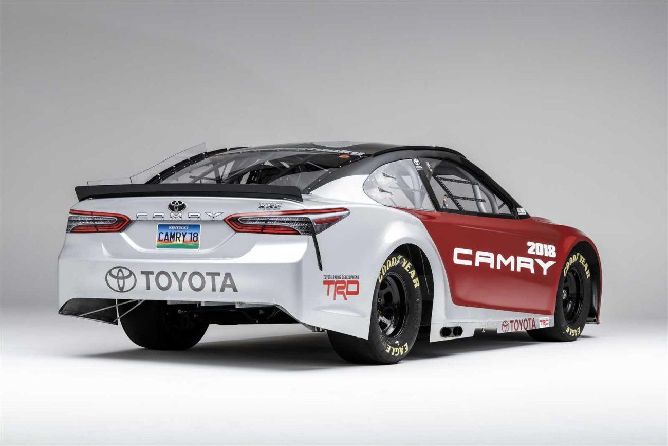 2017 NASCAR Toyota - 2018 Camery Model