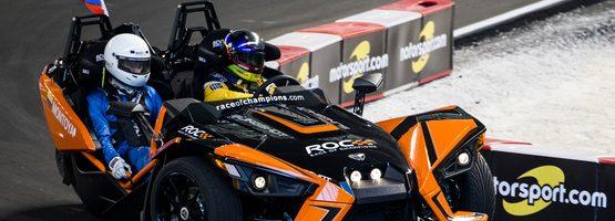 2017 Race of Champions Winner Juan Pablo Montoya
