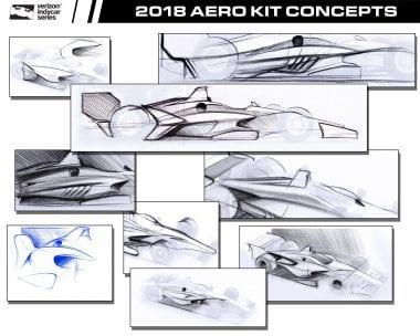 2018 IndyCar Design Renderings - Concept Drawings Released