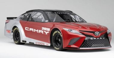 2018 Toyota Camry NASCAR Edition Photo Released
