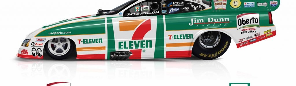 7-Eleven Funny Car – Jim Dunn Racing