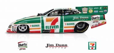 7-Eleven Funny Car - Jim Dunn Racing - NHRA Drag Racing