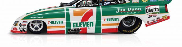 7-Eleven Funny Car – Jim Dunn Racing