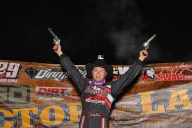 Bobby Pierce 2017 Wild West Shootout Champion
