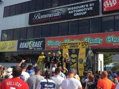 Bommarito Photos - Gateway Motorsports Park Dragstrip Sponsor