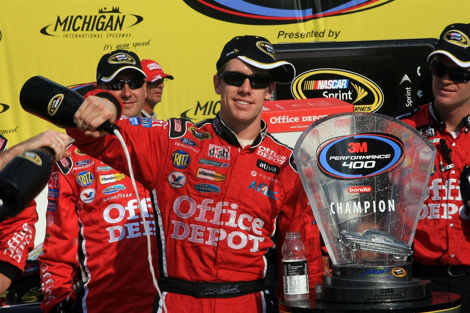 Carl Edwards Retiring from NASCAR as of now