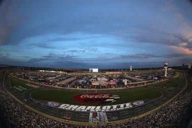Charlotte Motor Speedway NASCAR Road Course Race