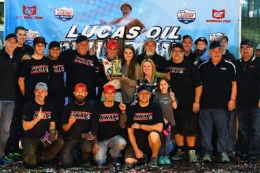 Christopher Bell wins 2017 Chili Bowl Nationals Midget Race - Victory Lane Photo