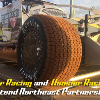 DIRTcar Racing Hoosier Tire Partnership Extended in Northeast