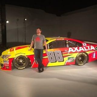Dale Earnhardt Jr 2017 Axalta Car Photos - Hendrick Motorsports