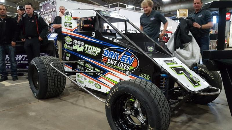 #Driven2SaveLives expands into dirt track racing in honor of Bryan Clauson