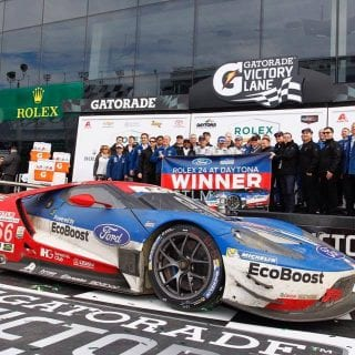 Ford GT CGRT - Rolex 24 at Daytona Victory Lane