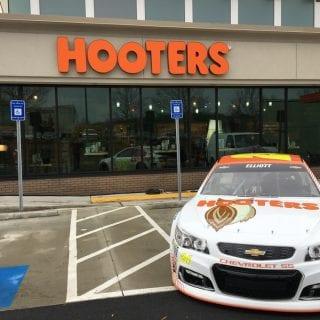 Hooters NASCAR Racecar - Chase Elliott 24