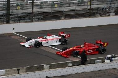 Indycar Drivers at the Chili Bowl Nationals - Kyle O'Gara